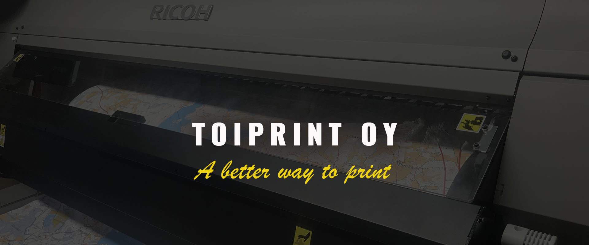 Toiprint Oy - A better way to print in Tampere